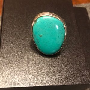 Turquoise Silpada Ring - Size 10